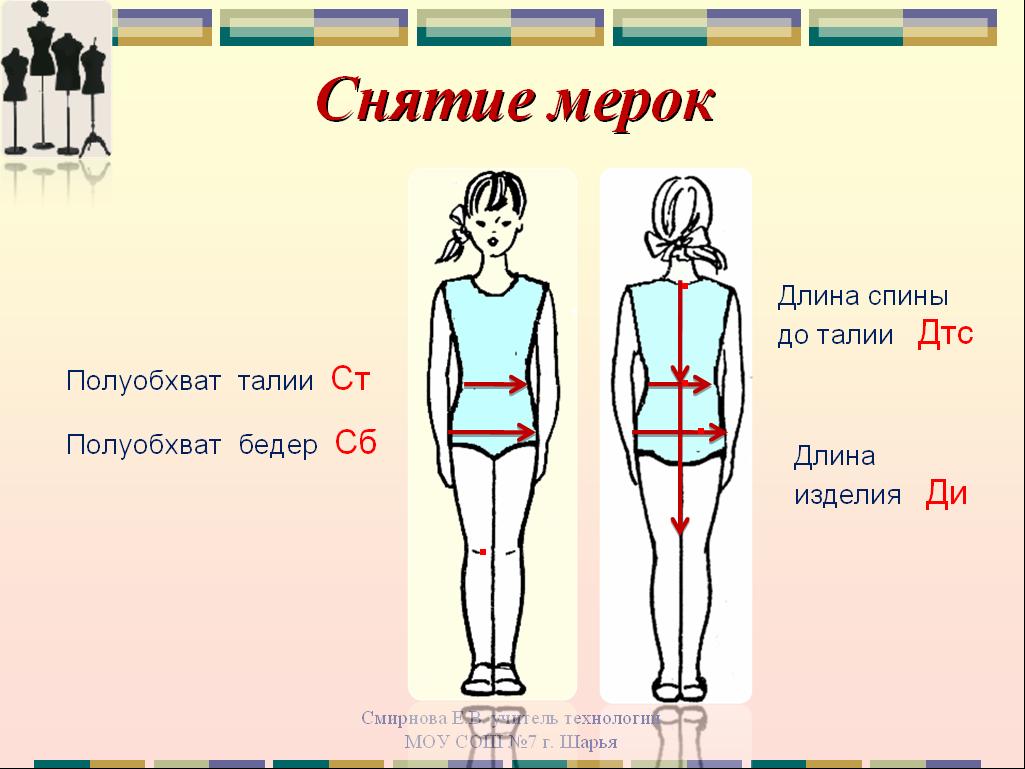 Моделирование юбки 56 размера